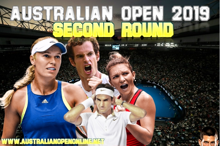 2019 Australian Open 2nd Round In Melbourne
