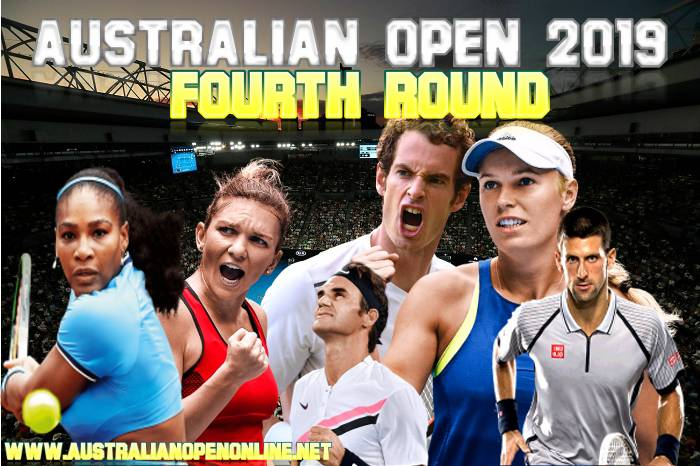 Round 4 Australian Open On 20-21 January 2019 In Melbourne