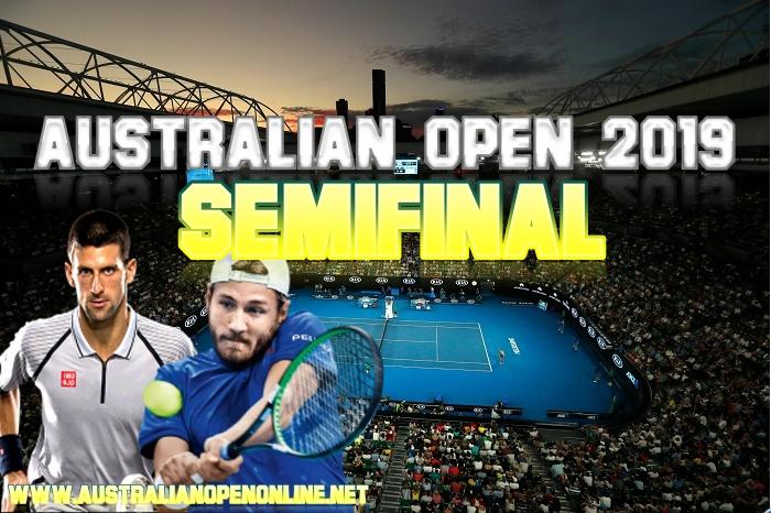 N. Djokovic vs L. Pouille Semifinal 2019