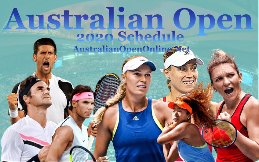 Australian Open 2020 Schedule Date Venue and Live Stream
