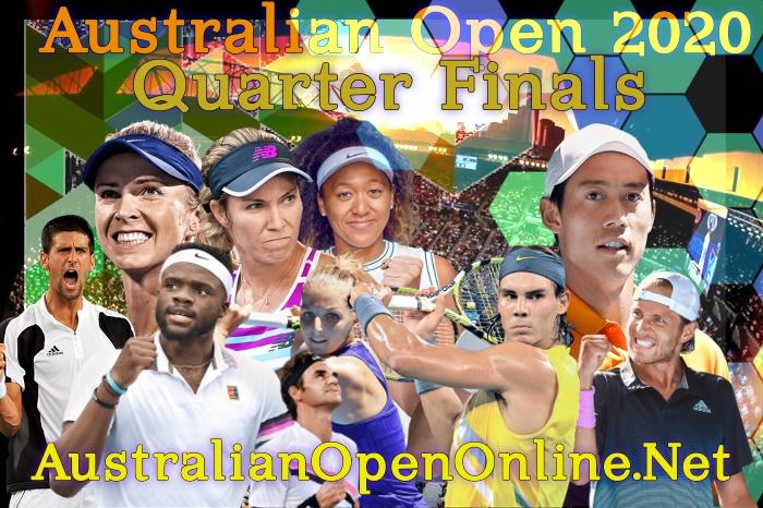 Australian Open 2018 Quarterfinals Live