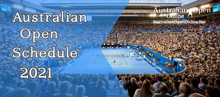 Australian Open 2021 Schedule Live Stream
