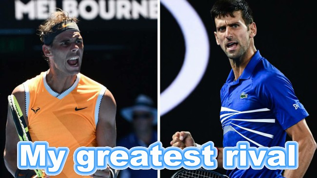 Novak Nadal Final Australian Open Video For Greatest Rival