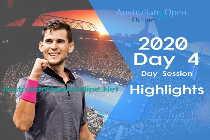 Australian Open Day 4 2020 Highlights Day Session