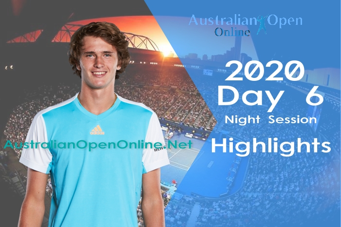 Australian Open Day 6 2020 Highlights Night Session