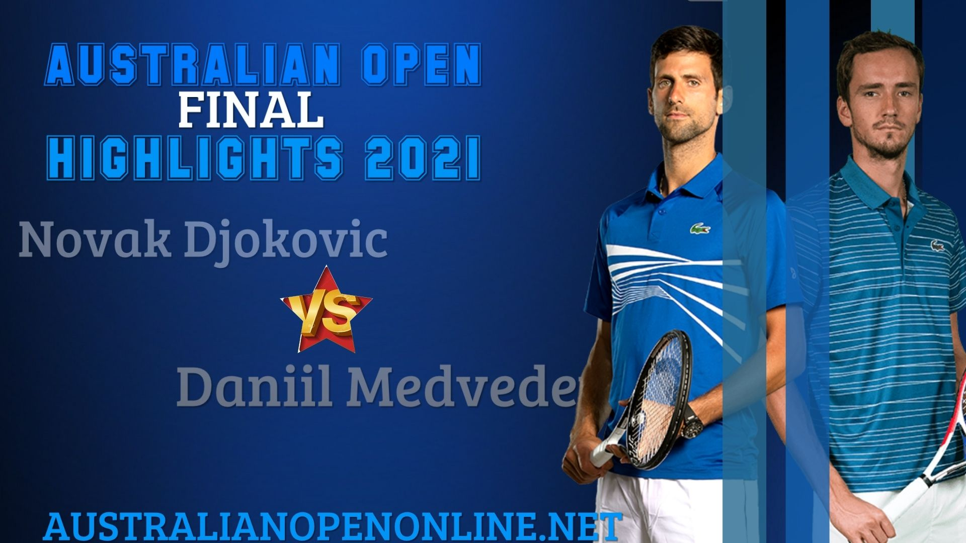 Medvedev Vs Djokovic Final Highlights 2021