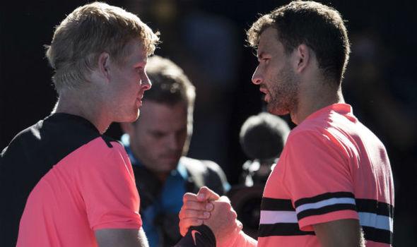 Watch Grigor Dimitrov vs Kyle Edmund Quarterfinal Live