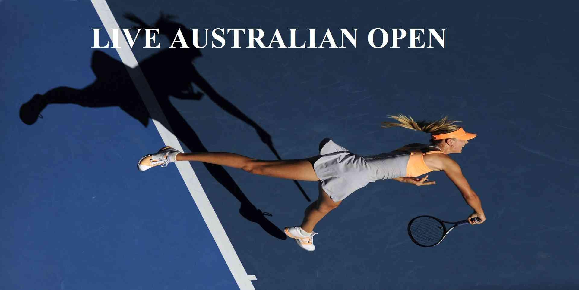 Live 2017 Australian Open 2nd Round Online